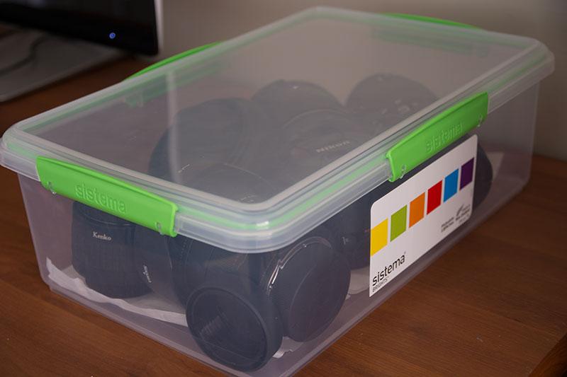 食品保存容器のSistema