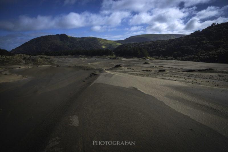 黒砂の砂丘