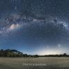 ニュージーランドの満天の星空を一眼レフカメラで360°パノラマ撮影 Pakiri Beach