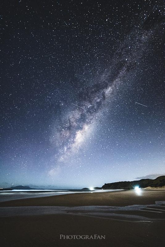 Milkyway at Pakiri Beach