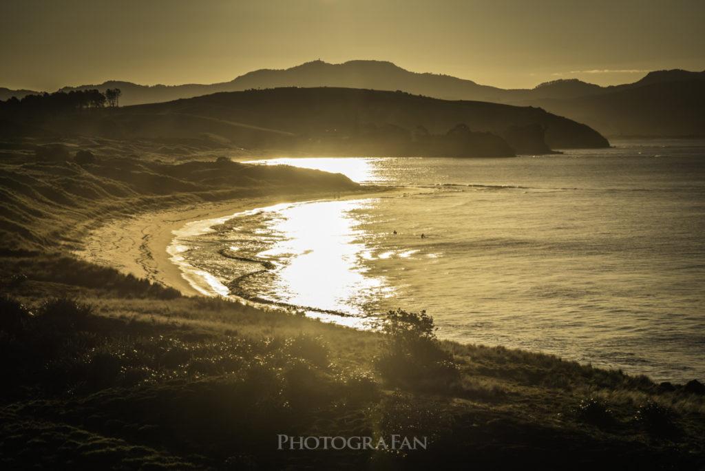 Tawharanuiのビーチ