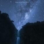 ニュージーランド星空・天の川撮影 – オークランドKitekite Falls(滝)