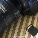 Nikon D750のSDカードエラーが出るようになった!その原因は?