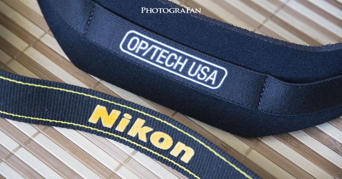 一眼カメラ用OP/TECHプロストラップのレビュー