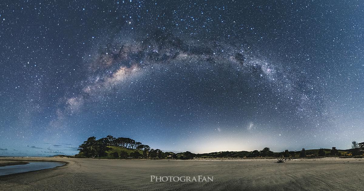 ニュージーランドの満天の星空を一眼レフカメラで360度 ...