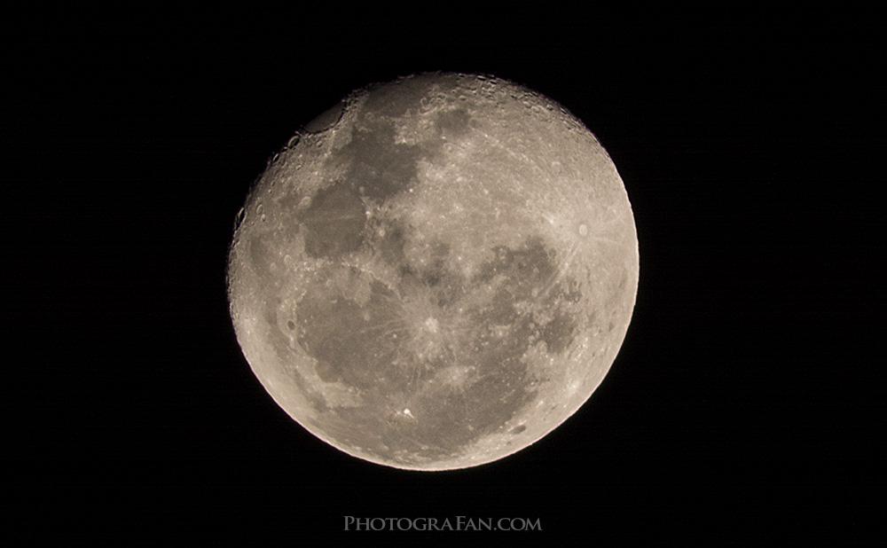 方 撮り 月 の