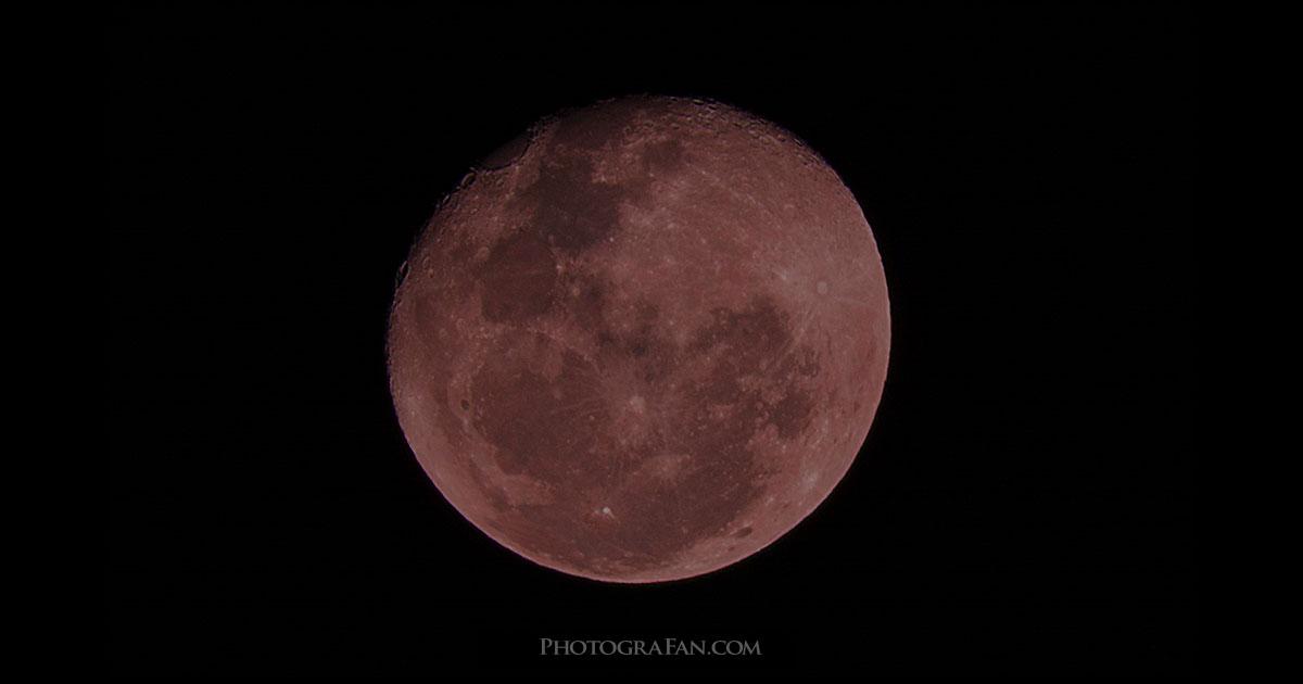 皆既月食の撮影方法