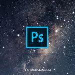 星空撮影にソフトフィルターは不要!Photoshopの星にじませレタッチ方法