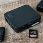 旅行先でカメラのSDカードのデータを直接外付けHDDにコピーする方法