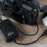 一眼カメラをモバイルバッテリーに繋ぎUSB給電撮影する方法