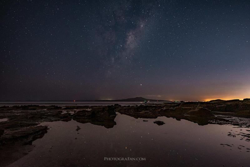NPFルールで撮影した星景写真