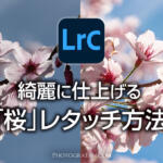 Lightroomで桜を綺麗に仕上げる写真のレタッチ方法