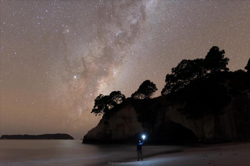 DxO PureRAWを使った星景写真のサンプル
