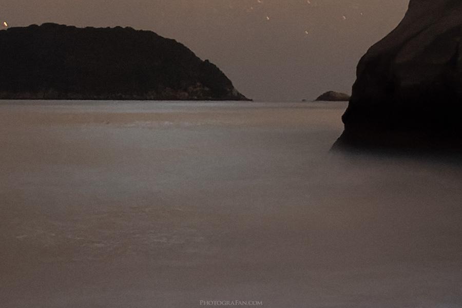 海面と遠景:PureRAW適用後