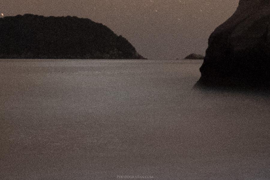 海面と遠景:PureRAW適用前