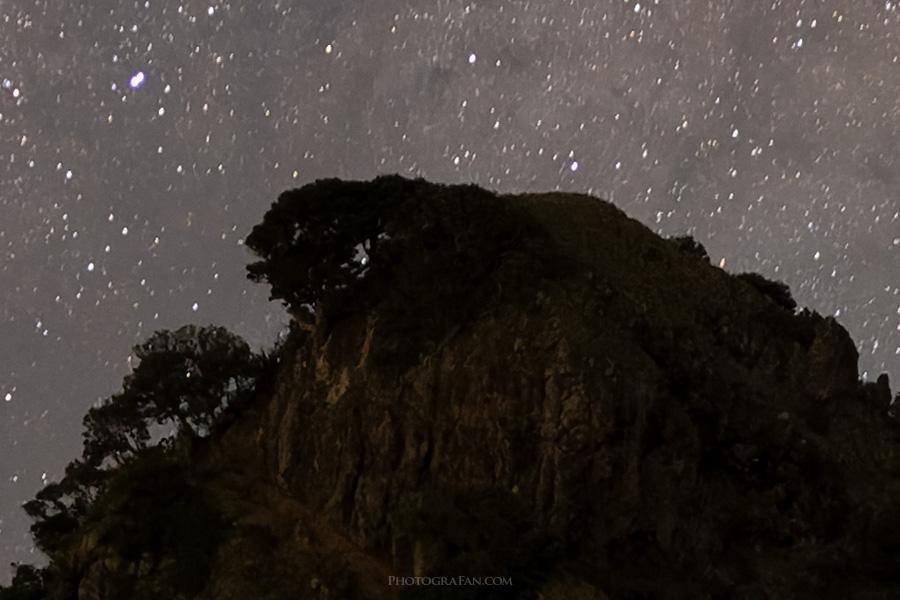 星空と景色:PureRAW