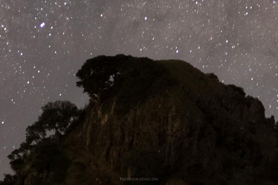 星空と景色:スタック